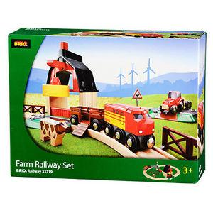 BRIO - Legetøjstogbane - Farm Railway Set