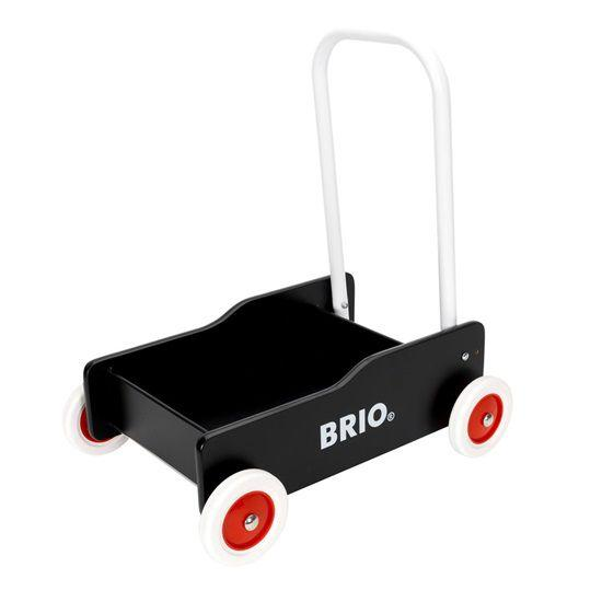 BRIO - Gåvogn - Toddler Wobbler sort