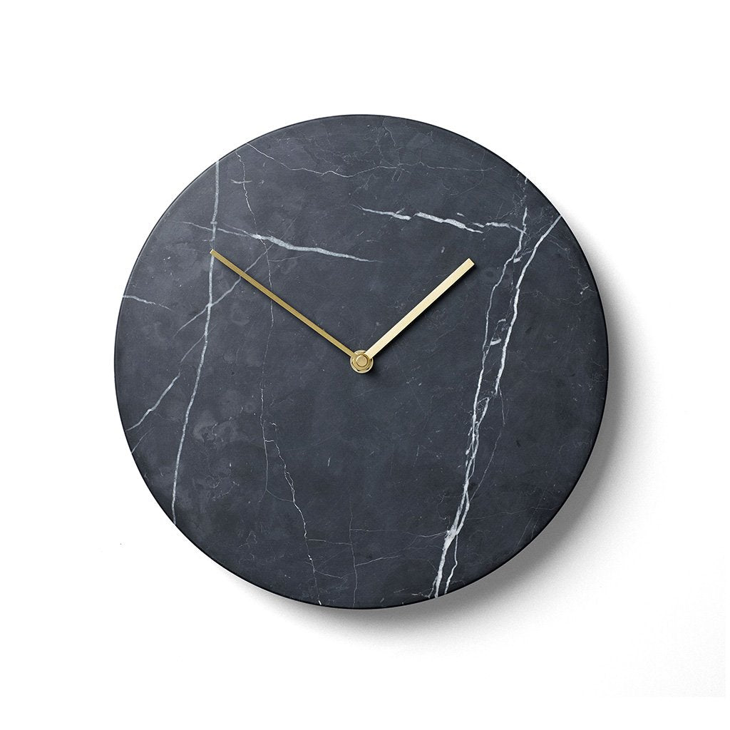 Menu Vægur - Marble Wall Clock