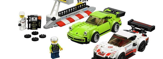 LEGO Speed Champions - Porsche 911 RSR and 911 Turbo 3.0 (75888)