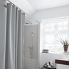 Skriver Collection, Shower Curtain Light Grey