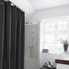 Skriver Collection, Shower Curtain Dark Grey