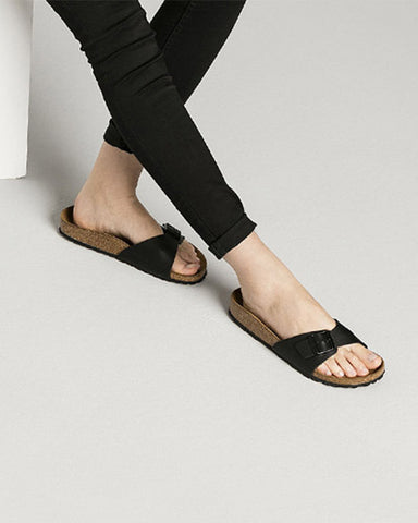 Birkenstock - Madrid sandal i sort