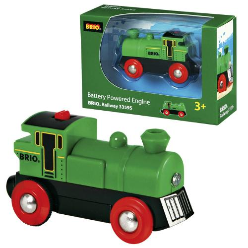 BRIO - Legetøjstog - Battery Powered Engine