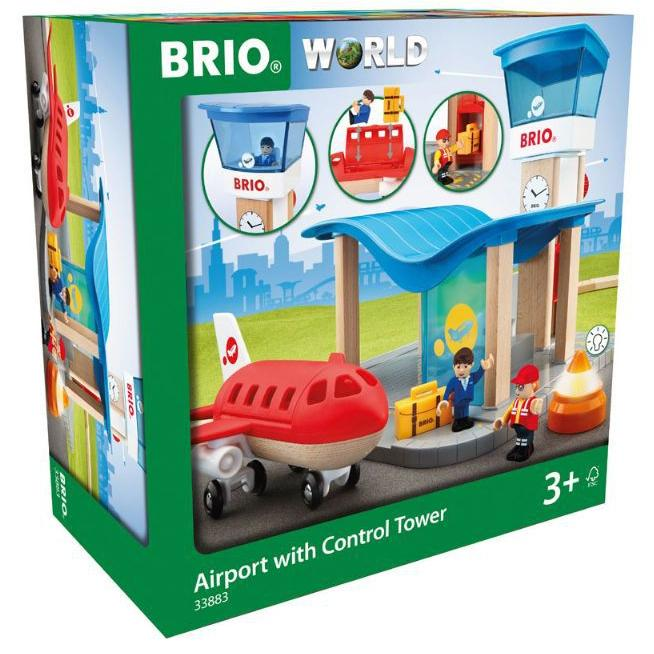 BRIO - Legetøjslufthavn - Airport with Control Tower