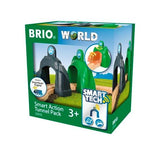 BRIO - Legetøjstogbane - Smart Tech Action Tunnel Pack