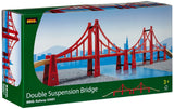 BRIO - Legetøjstogbane - Double Suspension Bridge