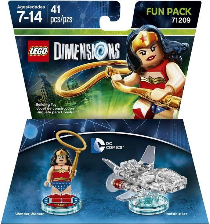 Lego Dimensions: Fun Pack - DC Wonder Woman (71209)