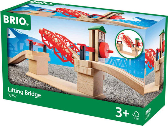 BRIO - Legetøjstogbane - Lifting Bridge
