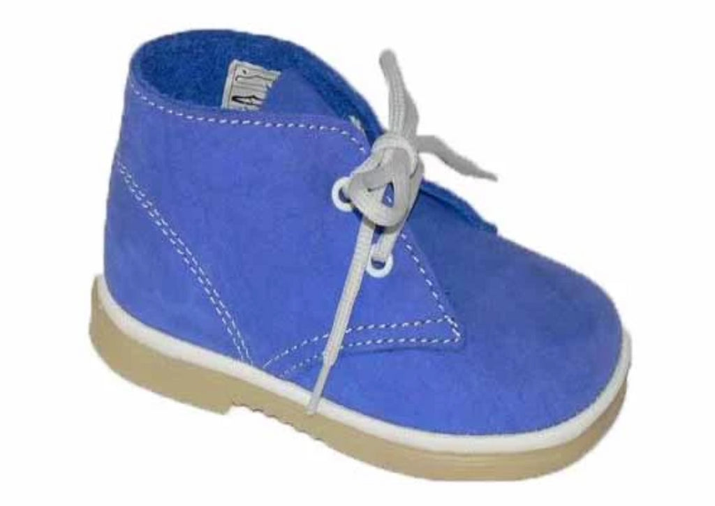 "Desert boot - In Azul ""Blue"" suede"