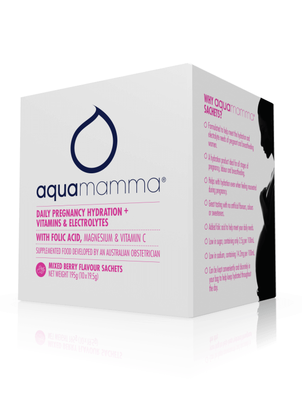 Aquamamma - Mixed Berry - 10 pack