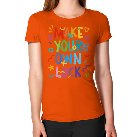 Women's T-Shirt Orange Shady Sluts Eyewear... get some.