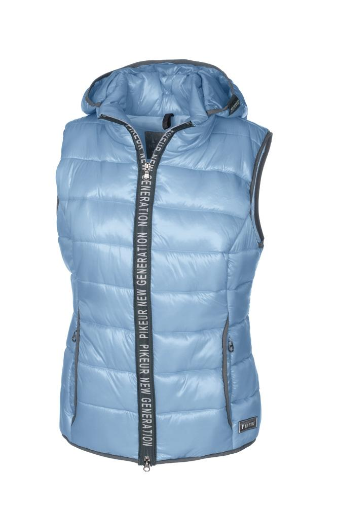 Pikeur Gil Quilted Ladies Waistcoat with Detachable Hood