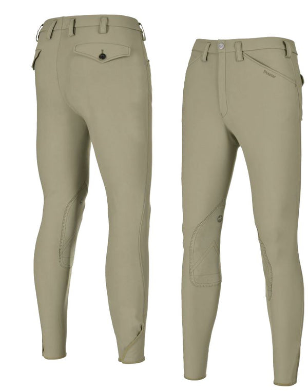 Pikeur Rodrigo McCrown Suede Knee Patch Men's Breeches My Breeches | Pikeur