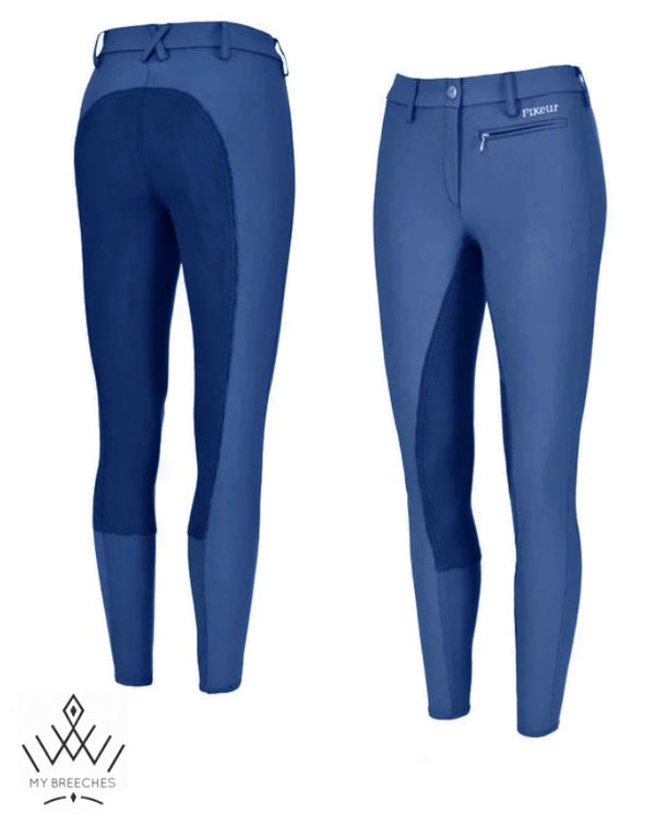 Pikeur Lugana Stretch Contrast Ladies Breeches - SALE My Breeches | Pikeur