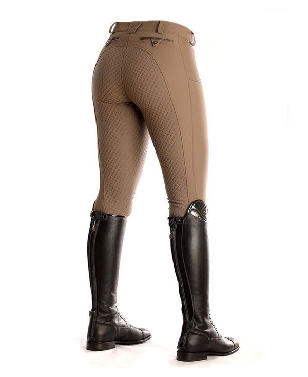 "Pikeur Alice Full Grip Ladies Breeches My Breeches | Pikeur Taupe 32/UK18""/USA20"""