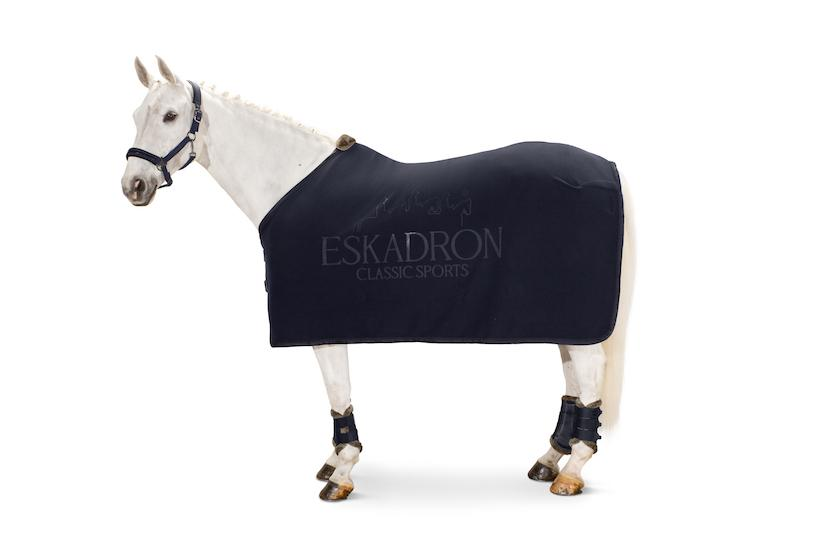 Eskadron Fleece Stamp Sweat Rug Classic Sports SS21 My Breeches | Eskadron Navy S (125cm/5ft6)
