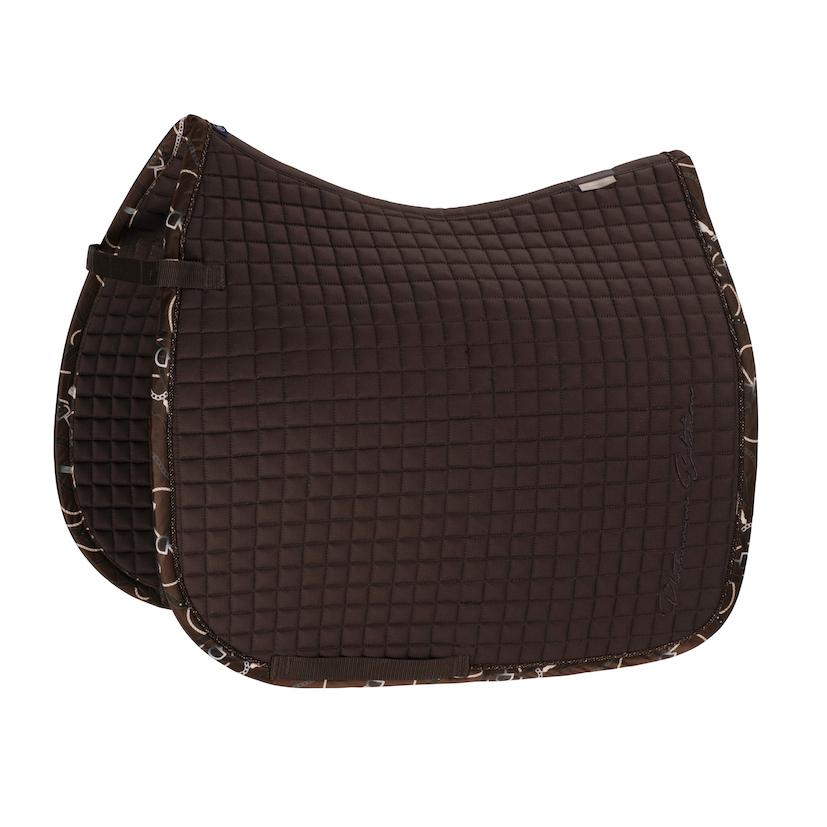 Eskadron Cotton Saddle Pad Platinum 2020 Eskadron My Breeches | Eskadron Havana Brown Pony - Dressage