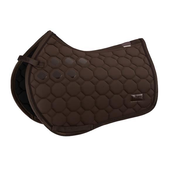 Eskadron Soft-shell Saddle Pad Platinum 2020 Eskadron My Breeches | Eskadron Havana Brown Full - GP/Jumping