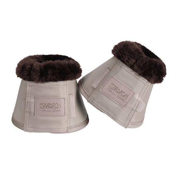 Eskadron Softslate Faux Fur Bell Boots Platinum 2020