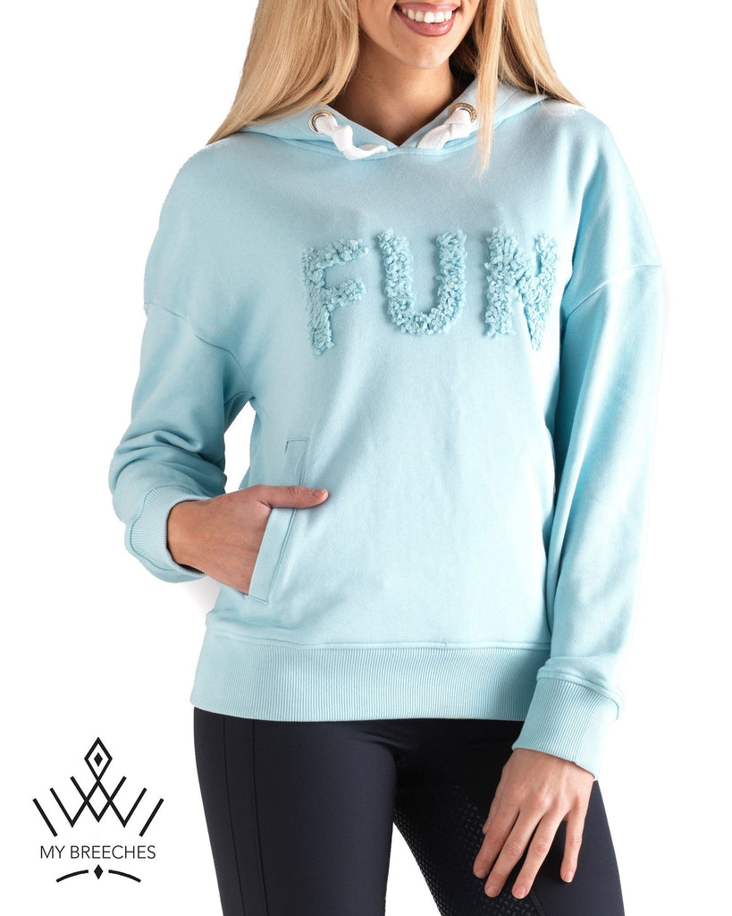 Pikeur Tia Ladies Hoody *Pre-order for March Delivery* My Breeches | Pikeur Aquamarine 34/UK6/USA2