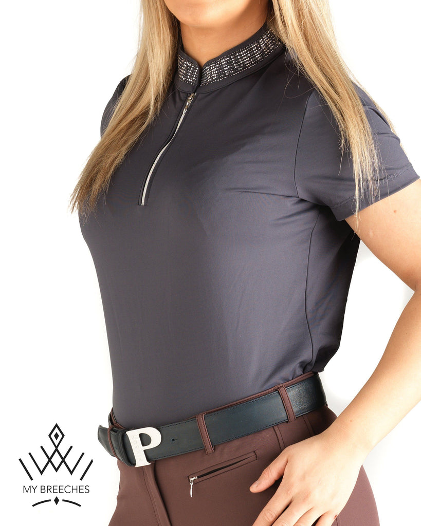 Pikeur Birdy Ladies Functional Shirt *Pre-order for Feb Delivery* My Breeches | Pikeur Graphit 34/UK6/USA2