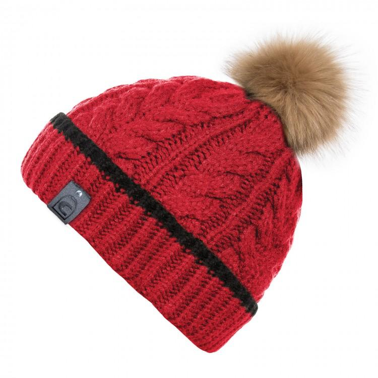 Cavallo Livia Knitted Hat My Breeches | Pikeur Lipstick Red
