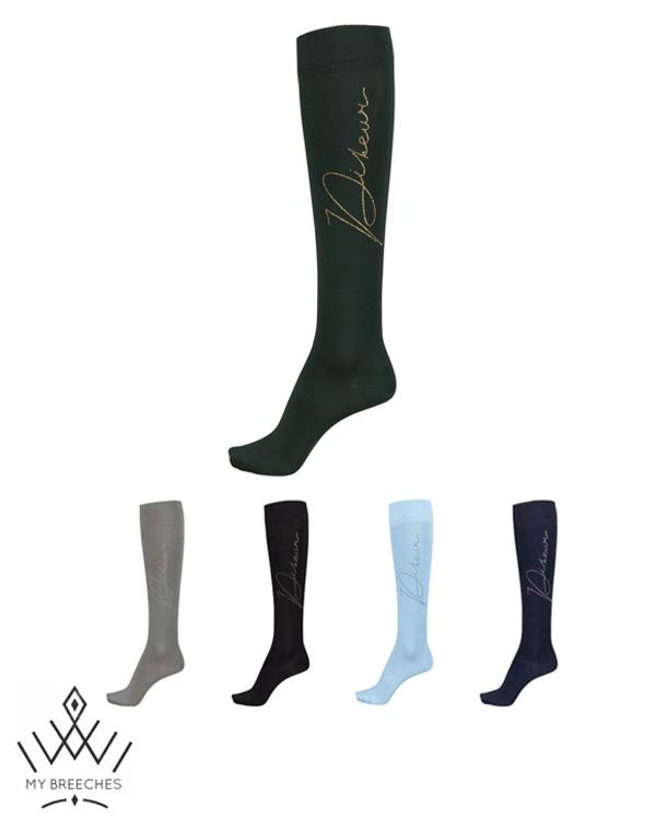Pikeur Knee Socks With Rhinestuds *Pre-order for March Delivery* My Breeches | Pikeur