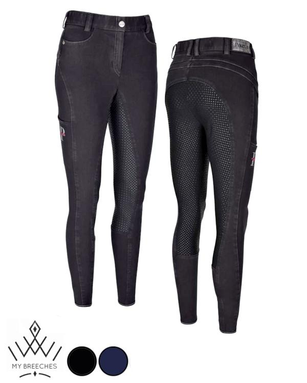 Pikeur Tesia Denim Full Grip Ladies Breeches Ladies Breeches My Breeches | Pikeur