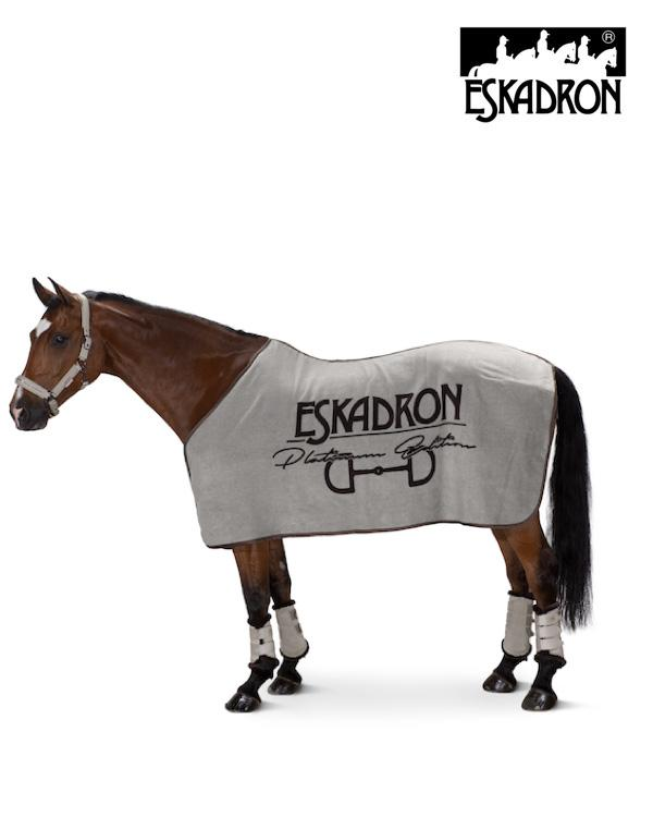 Eskadron Dralon Brand Sweat Rug Platinum 2020 Eskadron My Breeches | Eskadron Greige S (125cm/5ft6)
