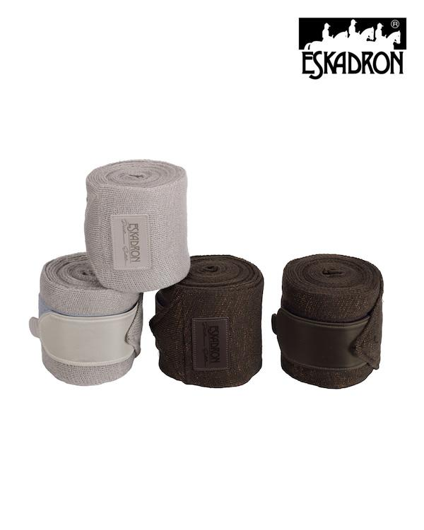 Eskadron Acrylic Lurex Bandages (Set of 4) Platinum 2020 Eskadron My Breeches | Eskadron