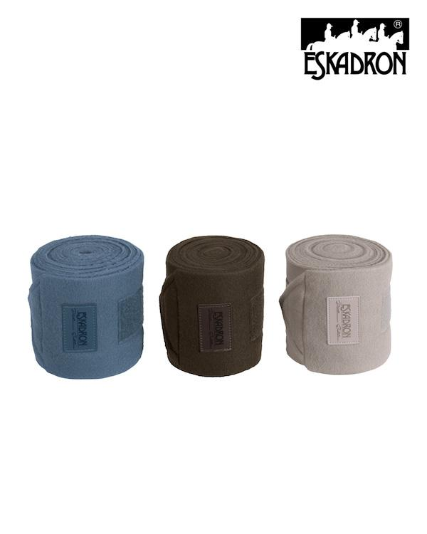 Eskadron Fleece Bandages (Set of 4) Platinum 2020 Eskadron My Breeches | Eskadron
