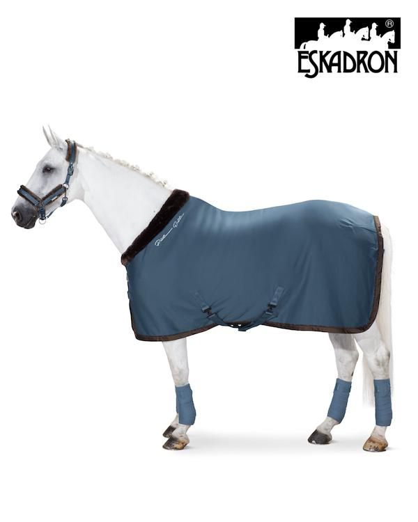 Eskadron Jersey Faux Fur Collar Sweat Rug Platinum 2020 Eskadron My Breeches | Eskadron