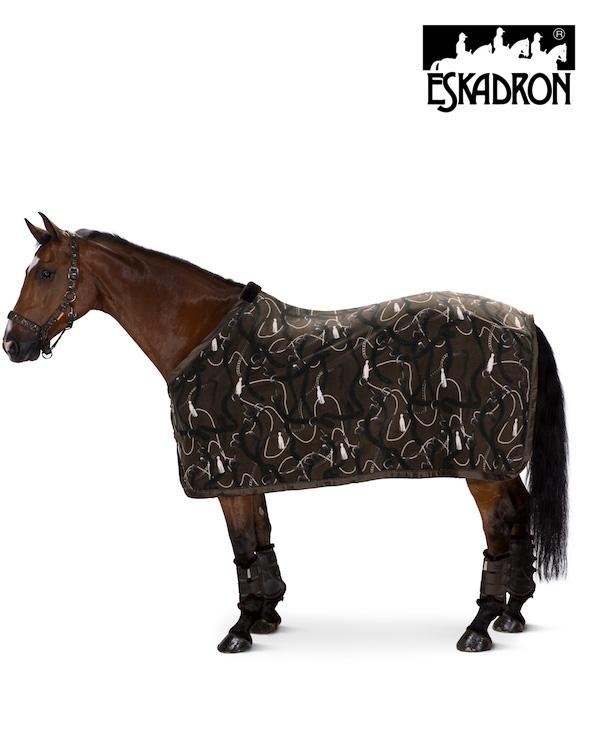 Eskadron Fleece Dessin Sweat Rug Platinum 2020 Eskadron My Breeches | Eskadron Havanna Brown S (125cm/5ft6)
