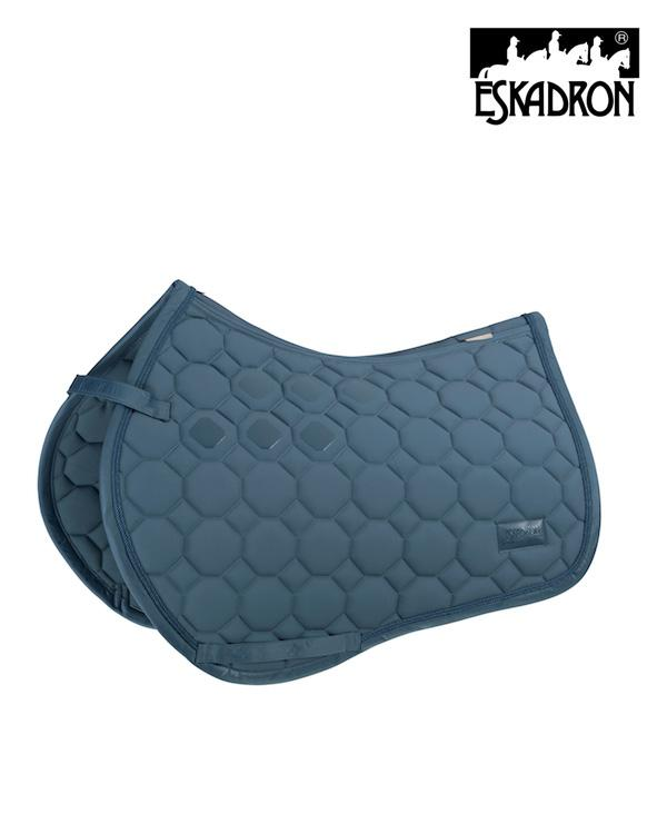 Eskadron Soft-shell Saddle Pad Platinum 2020 Eskadron My Breeches | Eskadron Vintage Blue Full - GP/Jumping