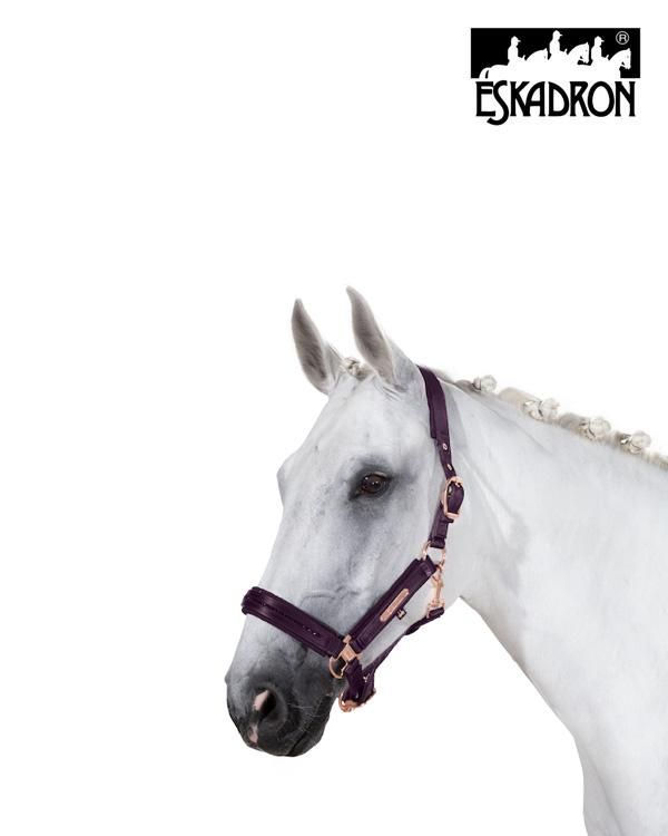 Eskadron Softslate Crystal Double Pin Headcollar Heritage AW20