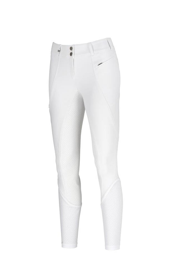 "Pikeur Dilaria Full Grip Ladies Breeches *Pre-order for March Delivery* Ladies Breeches My Breeches | Pikeur White 34/UK20""/USA22"""
