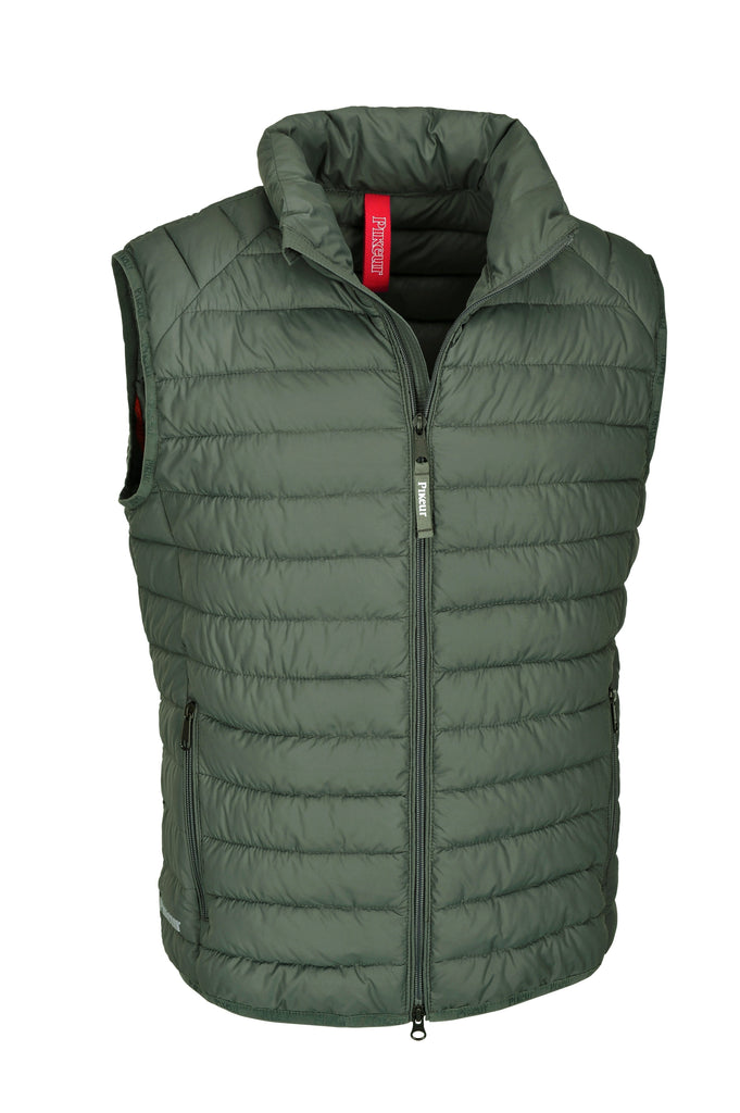 "Pikeur Valero Mens Quilted Gilet My Breeches | Pikeur Agave 44/34"" Chest"