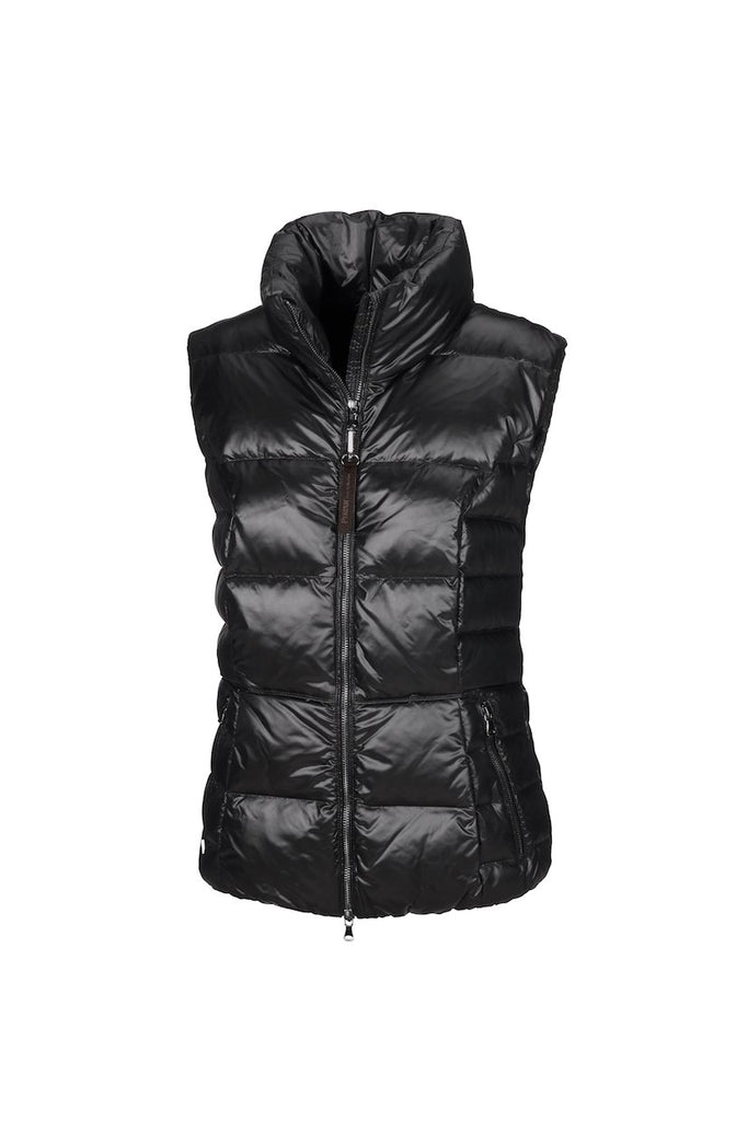 Pikeur Prime Collection Bliss Ladies Quilted Waistcoat My Breeches | Pikeur Black 34/UK6/USA2