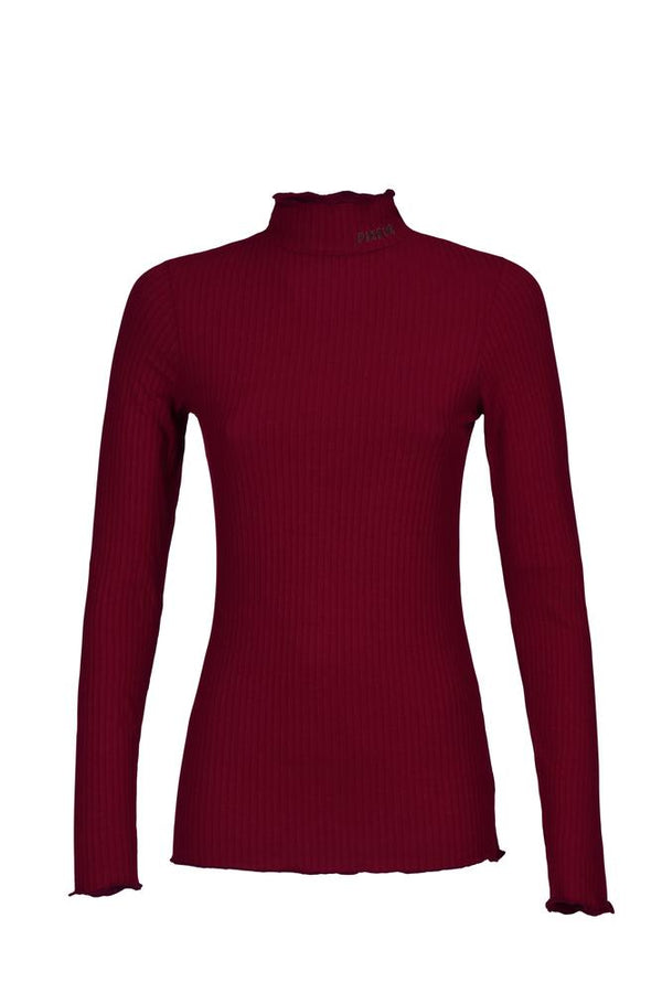 Pikeur Jaina Ribbed Polo-neck with Stand-up Collar