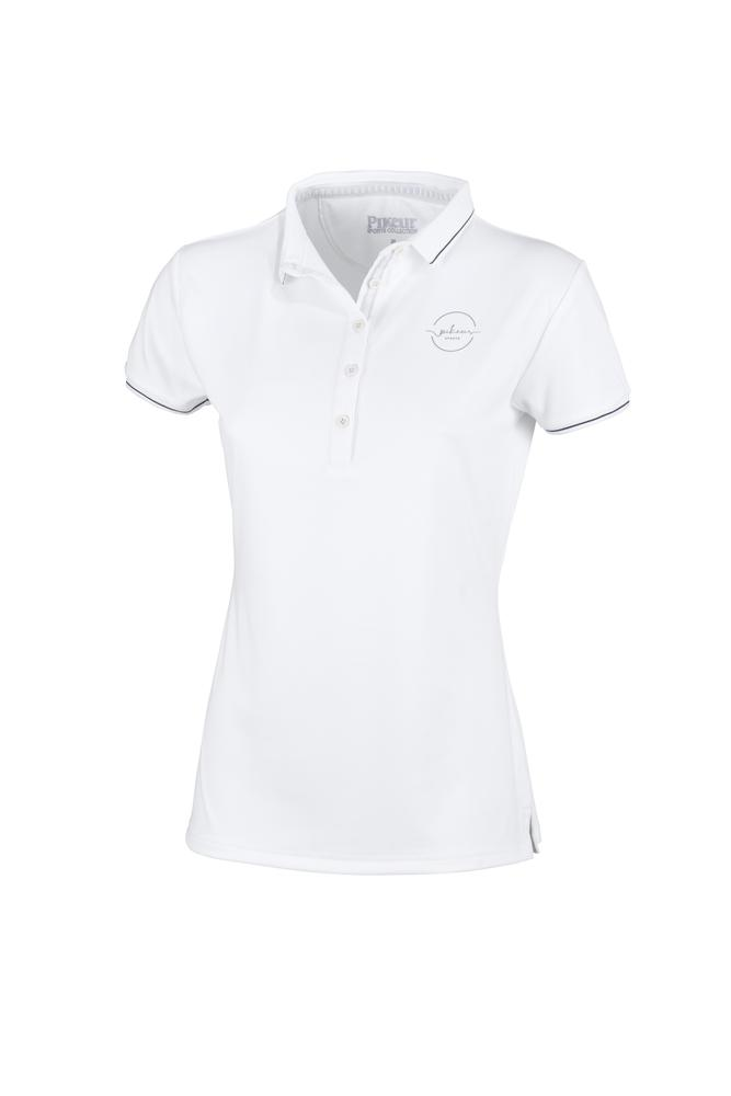 Pikeur Dasha Ladies Polo shirt My Breeches | Pikeur White 34/UK6/USA2