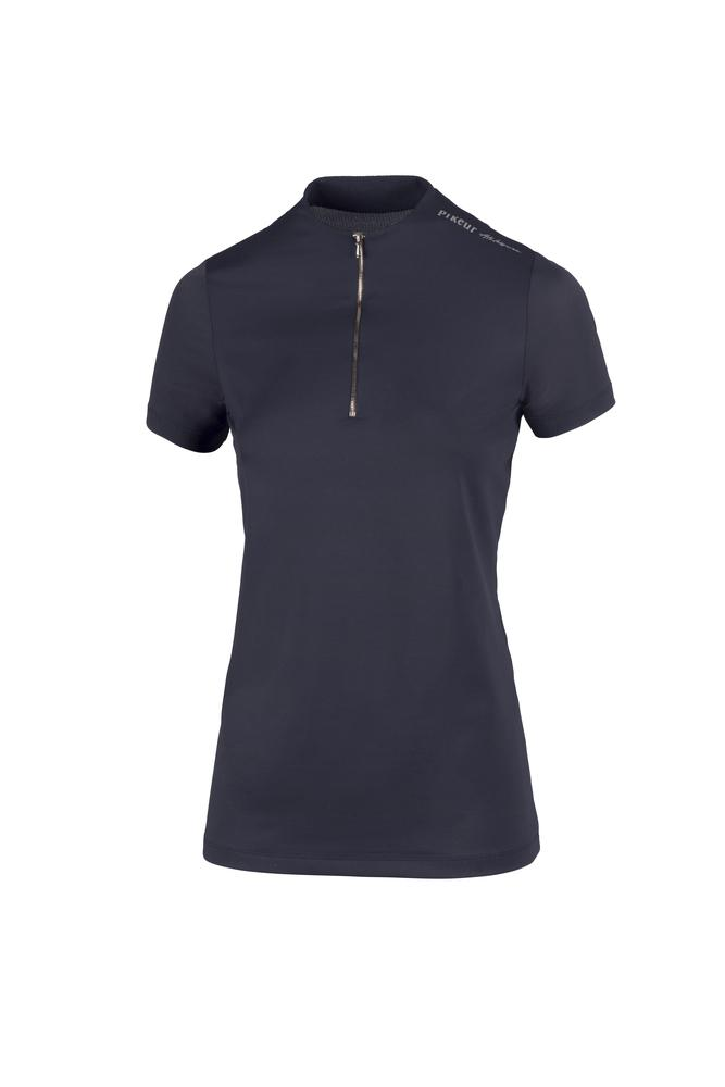Pikeur Linee Athleisure Ladies Zip Shirt *Pre-order for March Delivery* My Breeches | Pikeur Navy 32/UK4/USA0