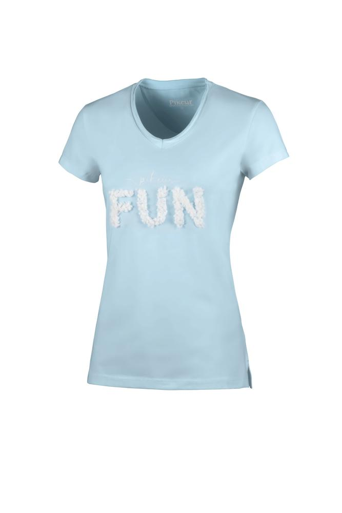 Pikeur Afral Round Neck Ladies T-Shirt *Pre-order for March Delivery* My Breeches | Pikeur Aquamarine 34/UK6/USA2
