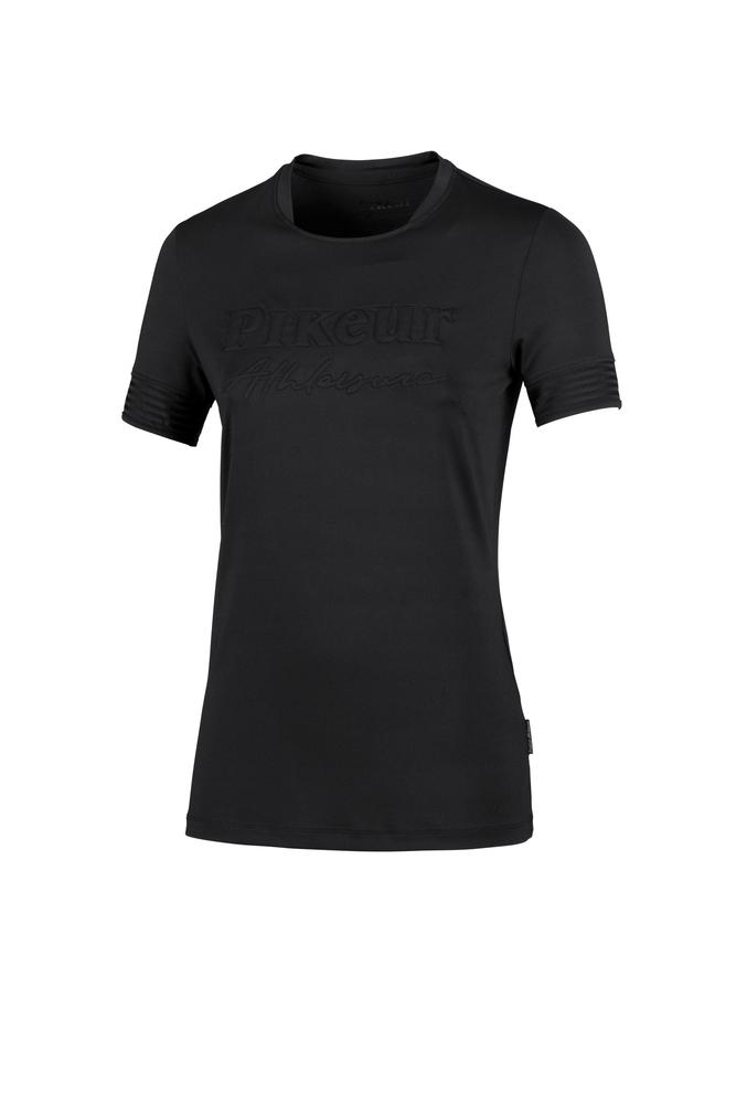Pikeur Loa Athleisure Functional Ladies T-Shirt My Breeches | Pikeur Black 32/UK4/USA0