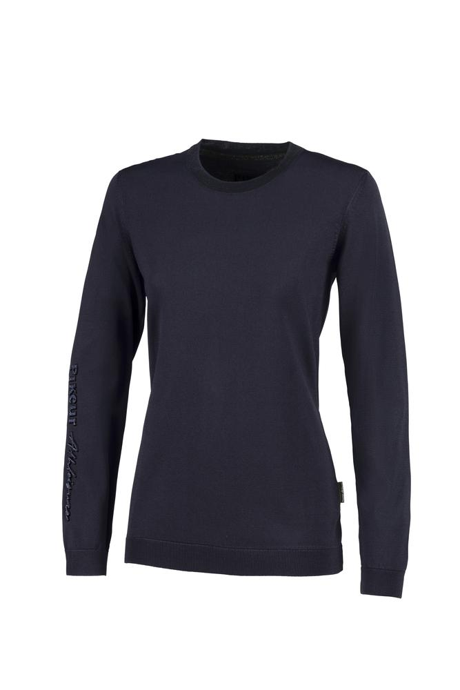 Pikeur Livie Athleisure Ladies Round Neck Knitted Sweater *Pre-order for March Delivery* My Breeches | Pikeur Night Sky 32/UK4/USA0