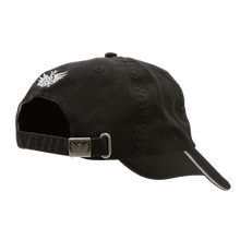 Low low Profile Hat Black Back