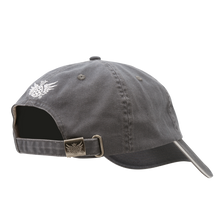 Low low Profile Hat Gray Back
