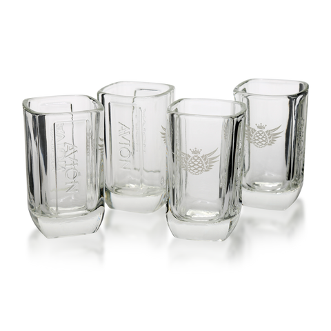 Avión Shot Glasses<br>(set of 4)