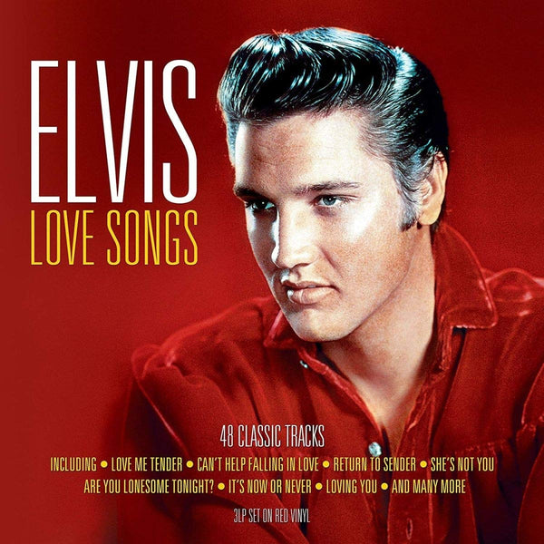 ELVIS PRESLEY Elvis Love Songs 3LP RED VINYL