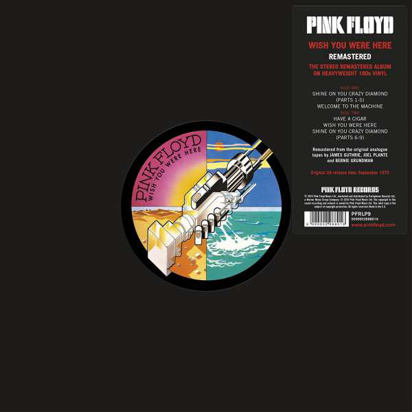 PINK FLOYD - Wish You Were Here VINYL LP